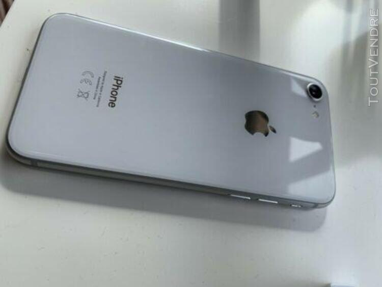 Apple iphone 8 64go gris argent