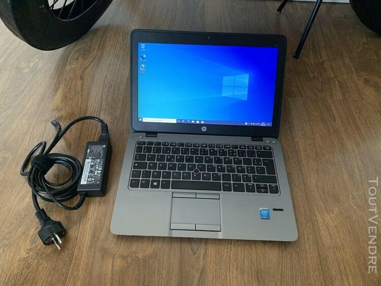 Hp elitebook 820 g2 - ssd 256 gb - intel core i5-5200u @ 2.2