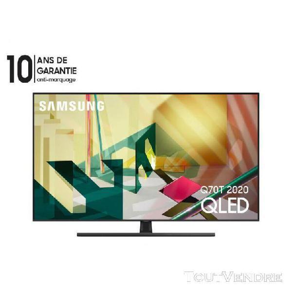 Samsung tv qled 75 pouces dual led 4k pqi 3600 smart tv comp