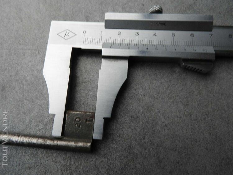 Cle vierge n°20 l clef pour serrure ancienne porte cadenas
