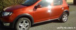 Dacia sandero stepway rouge