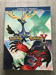 Livre pokemon guide officiel pokemon x et y