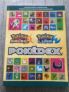 Livre pokemon pokedex soleil et lune guide complet du jeux