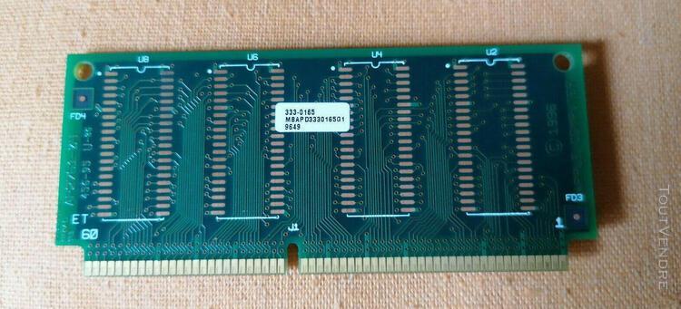 Apple power macintosh 4400/200 2mb edo vram video ram module