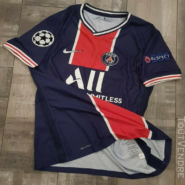 Match worn shirt neymar jr psg maillot porté cl 2020 2021