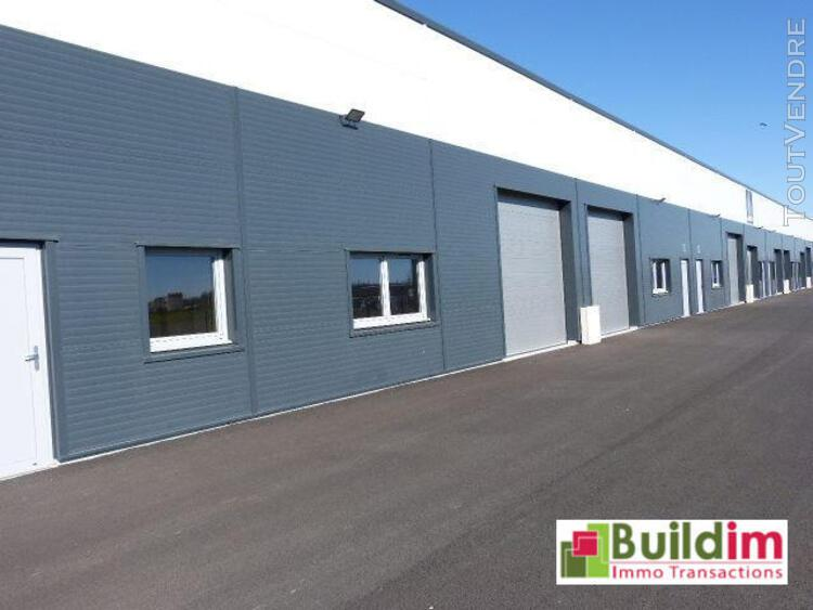 Locaux d'activites de 150 m² - caen sud