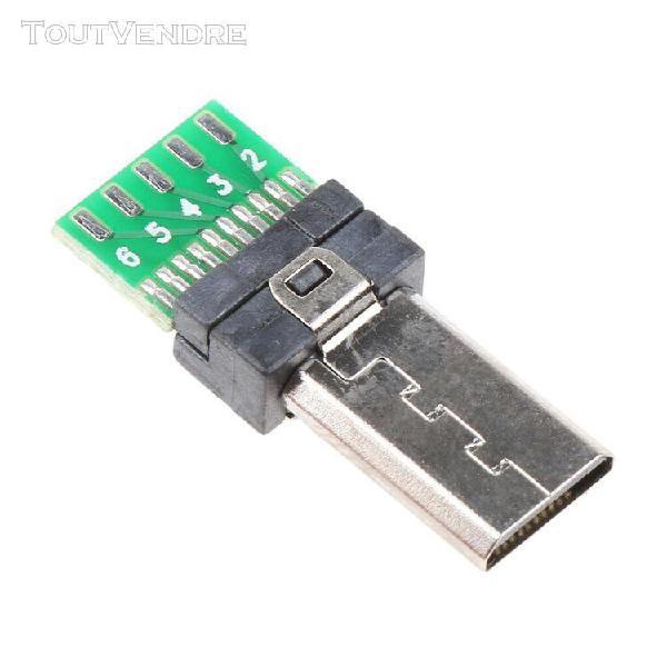 Prise de connecteur de commande de prise usb à 15 broches