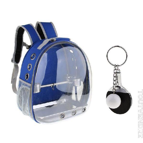 Kit de sac transport transporteur animaux avec perchoir pour