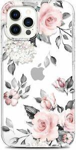 Rxkeji coque iphone 12 pro max silicone transparent tpu gel