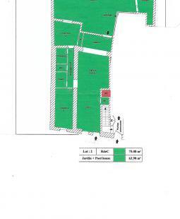 Ensemble immobilier de 408 m2, à 1. 225 euros le m2