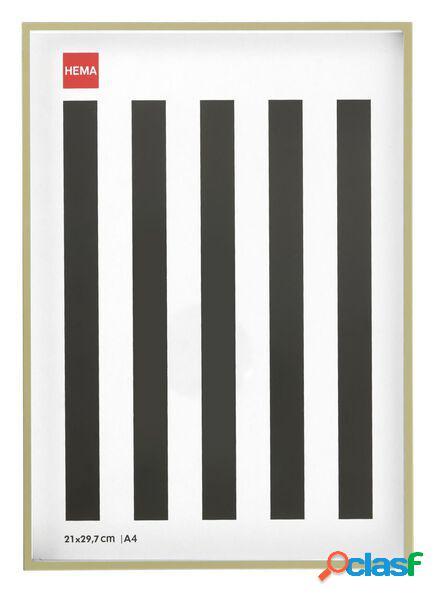 Hema cadre photo - métallique - doré - bord fin 21 x 29.7