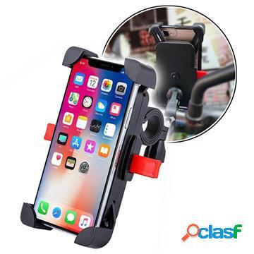 Support de vélo rotatif - 4.6-6.5 - noir / rouge