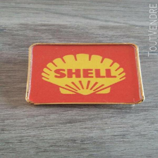 Shell (publicitaire huile bidon oil esso garage auto antar