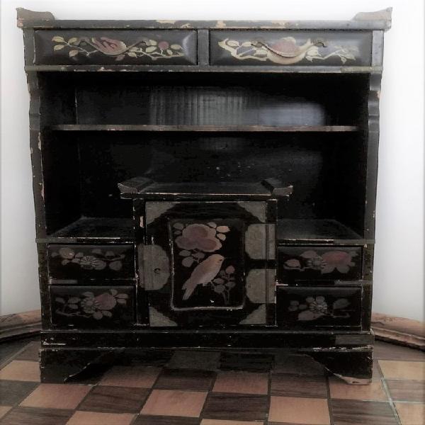 Ancien cabinet - armoire à secrets - japon - vintage