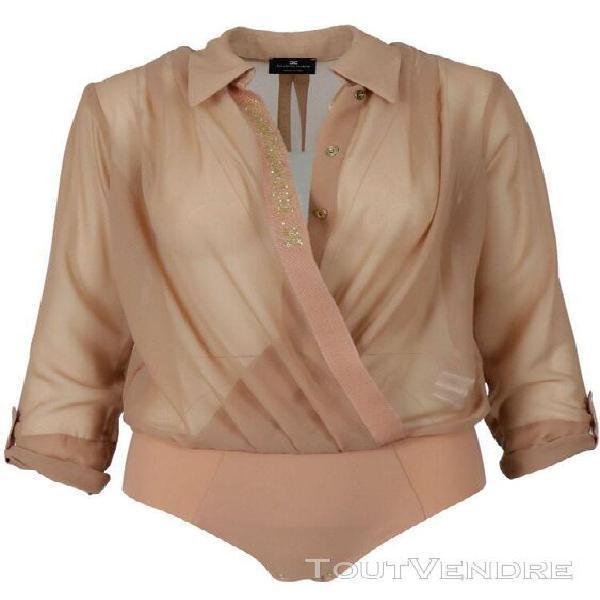 Elisabetta franchi femme cb00806e2w71 rose polyester body