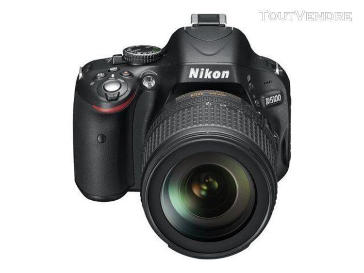 Nikon d5100 - appareil photo numérique - reflex - 16.2 mpix