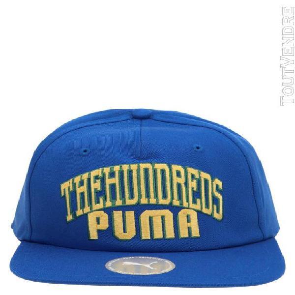 Puma homme 02286501 bleu coton chapeau