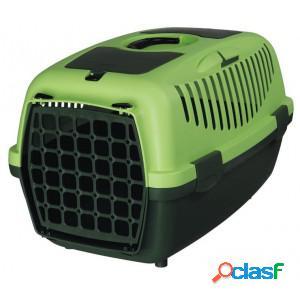 Cage de transport capri pour chien et chat - medium vert