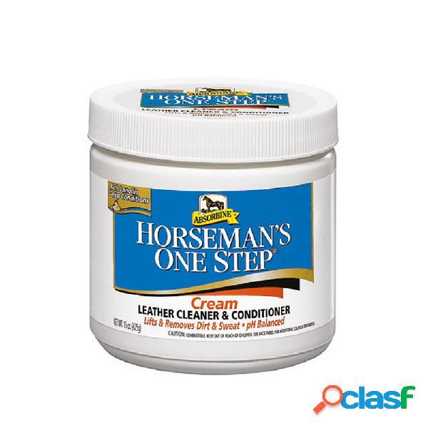 Crème pour cuir absorbine horseman's one step, 425 g