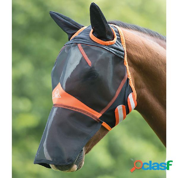 Masques anti-mouches shires à mailles fines, avec oreilles et nez ext