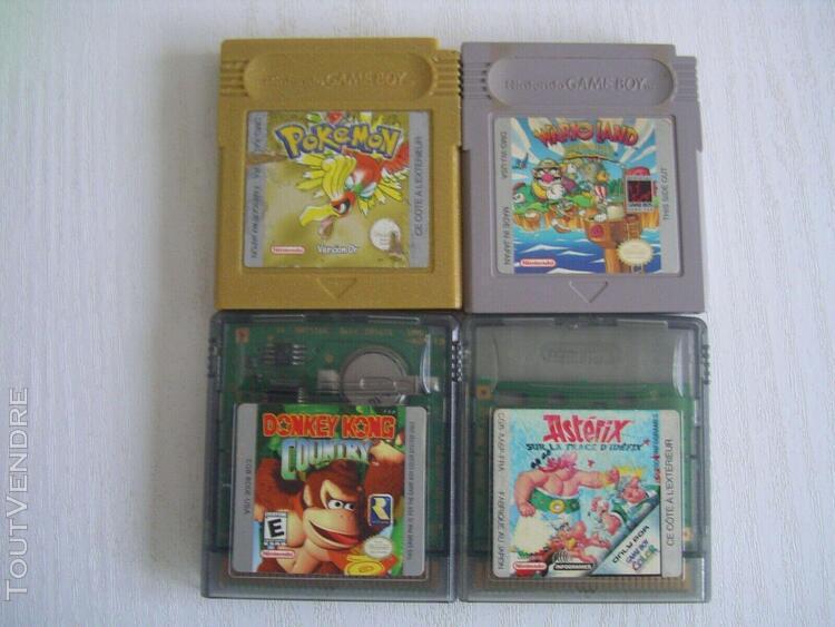 Game boy color + 13 jeux voir description
