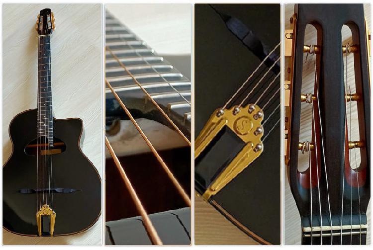 Guitare manouche bouche d neuf, la ferrière (85280)