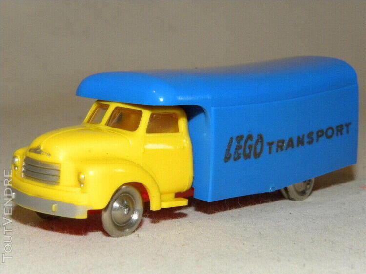 Miniature lego camion bedford de demenagement vintage toy mo