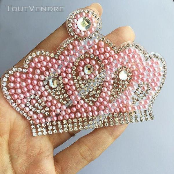 Patchs en perles et strass, motif pour nouveau né,