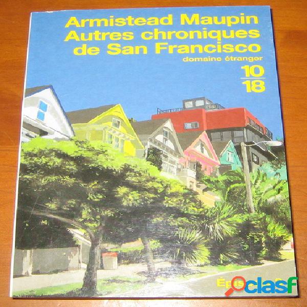 Autres chroniques de san francisco (episode 3), armistead maupin