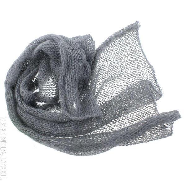 Bébé tissu mohair tricoté extensible accessoire pour