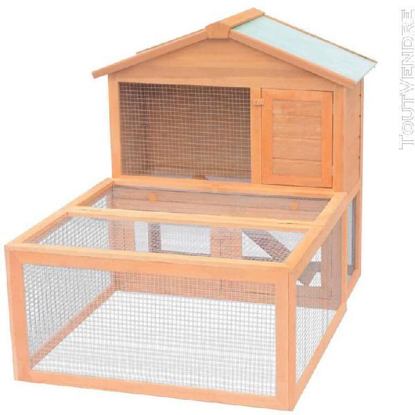 Cage pour animaux bois-18g