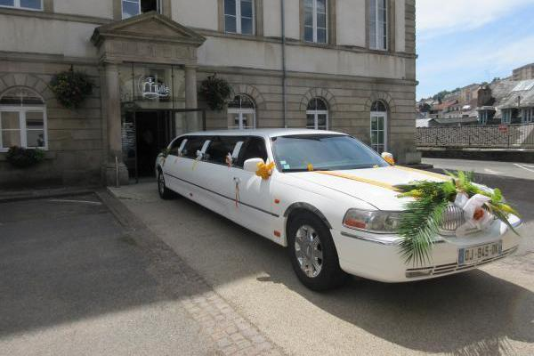 Location voitures de mariage
