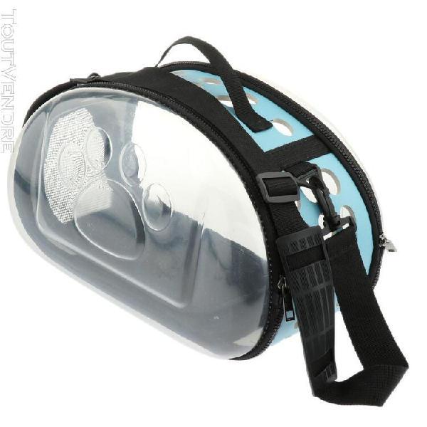 Sac transport de en plastique respirable pour chiens chats e
