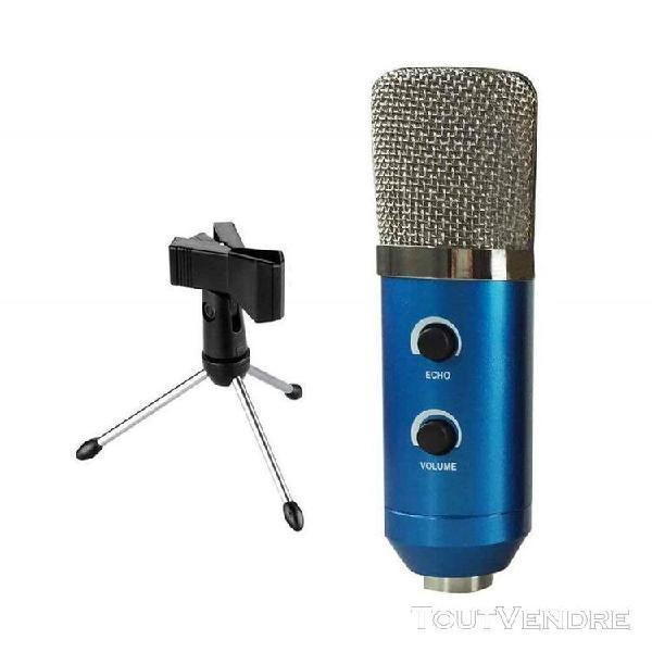 Son mic + trépieds audio pro microphone accessoires