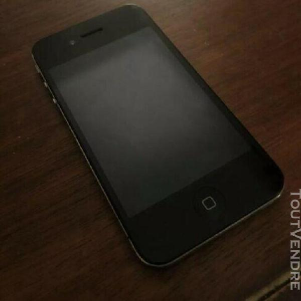 Téléphone portable apple iphone 4s noir 8go désimlocké /
