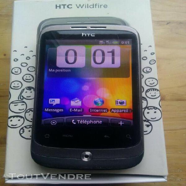 Téléphone tactile htc wildfire