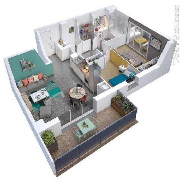 Appartement t3 à escalquens