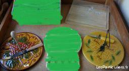 Divers plateaux et cloches à fromages / charcuterie