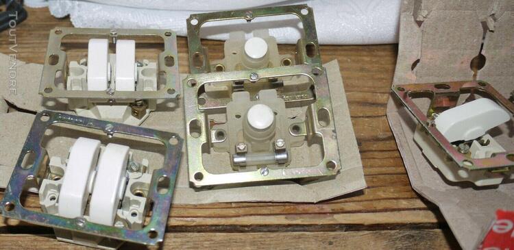 Interrupteurs legrand-chambord-sans enjoliveurs-lot de 18