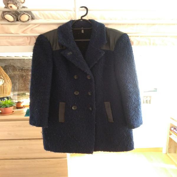 Manteau bleu marine naf-naf occasion, bordeaux (33200)