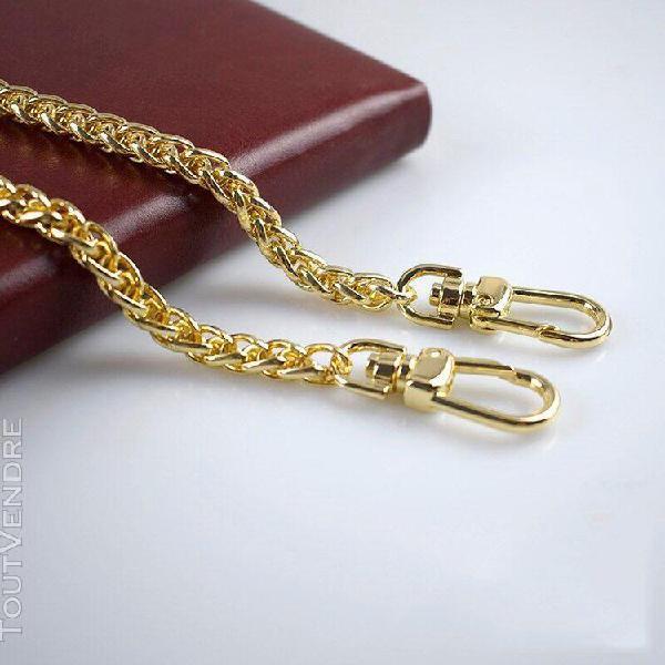 Meetee sac à main avec chaînes en métal 7mm de largeur 50