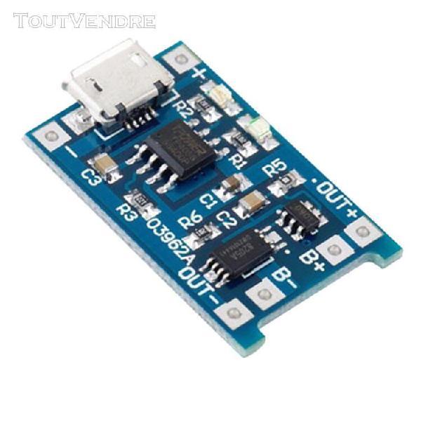 Module de charge micro usb de 1 pièce la charge linéaire
