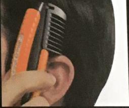 Tondeuse à cheveux et barbe, sans fil, neuve,