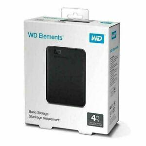 Disque dur externe western digital elements 4 to tb usb 3.0