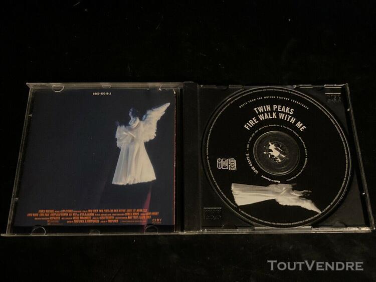 Twin peaks - fire walk with me / cd - warner bros 1992 / bad