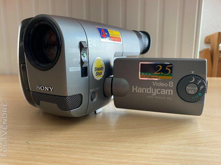 Caméscope sony caméscope ccd-trv 21 e - video 8 comme neuf