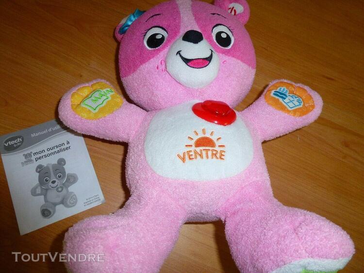 Jouet 1er âge bébé enfant - nina l'ourson vtech -