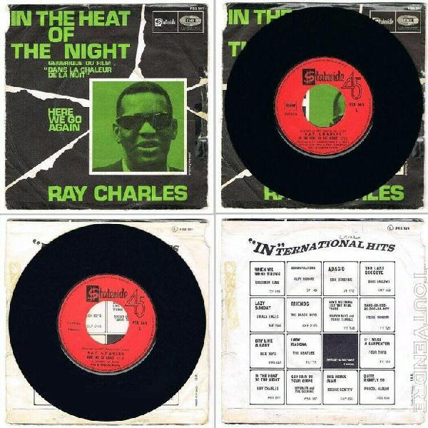 Ray charles -45t- in the heat of the night-dans la chaleur d