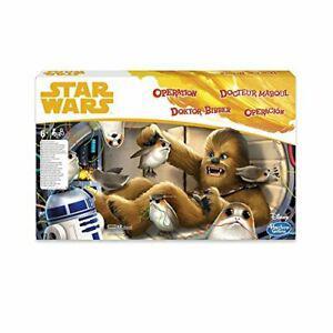 Star wars hasbro gaming operation game chewbacca edition