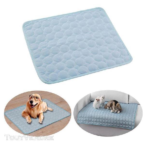 16x12 pouces pet tapis de refroidissement pad, été tapis